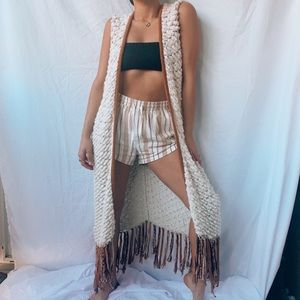 Free People Chunky Knit Vest